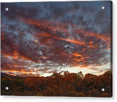 A Grand Sunset 2 Acrylic Print
