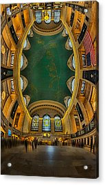 A Grand View  Acrylic Print by Susan Candelario