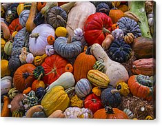 A Great Harvest Acrylic Print by Garry Gay
