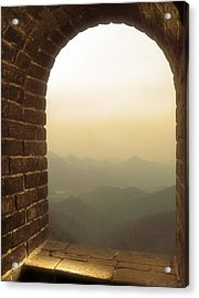 A Great View Of China Acrylic Print