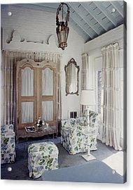 A Guest Room At Hickory Hill Acrylic Print