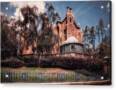 A Haunting House Acrylic Print