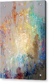 A Heart So Big - Custom Version 2 - Abstract Art Acrylic Print