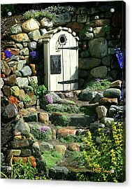 Acrylic Print featuring the photograph A Hobbit Home by Margaret Buchanan