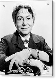 A Hole In The Head, Thelma Ritter, 1959 Acrylic Print by Everett