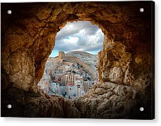 A Hole In The Wall Acrylic Print