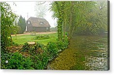 A Home By The River Anton Acrylic Print
