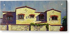 A Home In Barranco Acrylic Print
