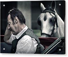 A Horse Is A Horse Is A Horse Of Course Acrylic Print