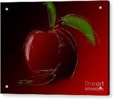 A Is For Apple 1 Acrylic Print