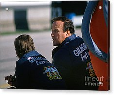 A. J. Foyt At Indy Acrylic Print