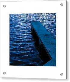 A Jetty's Life Acrylic Print by Paul Tully
