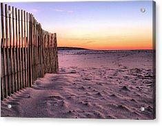 A Jones Beach Morning Acrylic Print by JC Findley