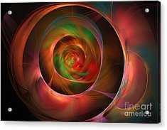 A Kind Of Inner Opalescence Acrylic Print