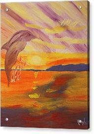 A Leap Of Joy Acrylic Print