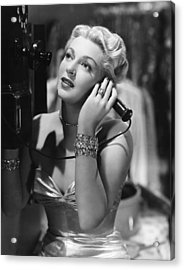A Life Of Her Own, Lana Turner, 1950 Acrylic Print