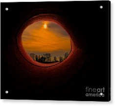 A Light At The End Of The Tunnel Acrylic Print by Gerlinde Keating - Galleria GK Keating Associates Inc