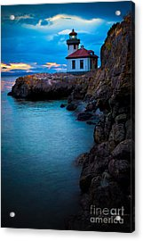 A Light In The Darkness Acrylic Print by Inge Johnsson