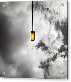 A Light That Never Goes Out Acrylic Print by Claudia Newman