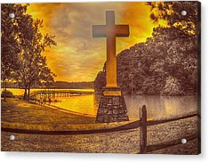 Acrylic Print featuring the photograph A Light Unto The World by Dennis Baswell