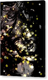 A Little Angel Statue  Acrylic Print