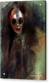 A Little Creepy Acrylic Print by Thomas Zuber