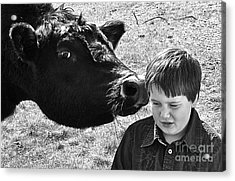 Acrylic Print featuring the photograph A Little Secret by Barbara Dudley
