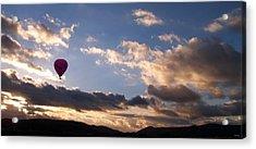 A Lone Flight Acrylic Print by Glenn McCarthy Art and Photography