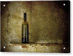 A Lonely Bottle Acrylic Print by RicardMN Photography