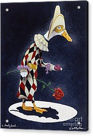 A Lonely Heart... Acrylic Print by Will Bullas