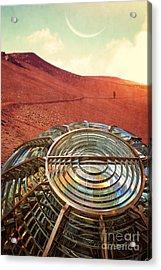 A Long Walk Home Acrylic Print by Edward Fielding