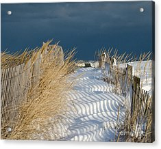 Acrylic Print featuring the photograph A Long Way From Summer by Stephen Flint
