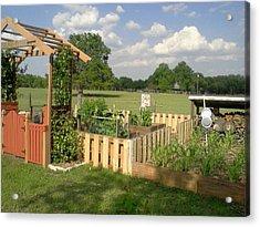 A Look At Growing Garden Acrylic Print