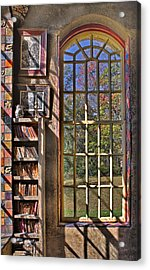 A Look From The Library Acrylic Print