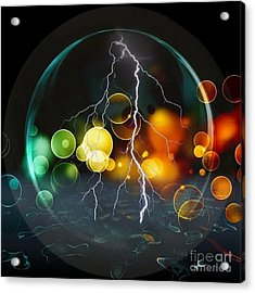 A Look Into The Future By Nico Bielow Acrylic Print