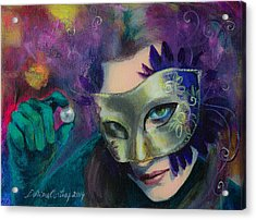 A Losing Game Acrylic Print by Dorina  Costras