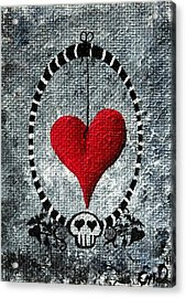 A Love Story 5 Acrylic Print by Oddball Art Co by Lizzy Love
