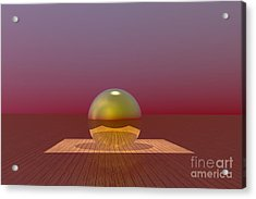 A Lozenge For The Soul Acrylic Print