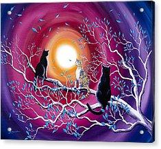 A Magical Autumn Night Acrylic Print