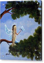 A Magical Daydream Original Artwork Acrylic Print by Shawna Erback