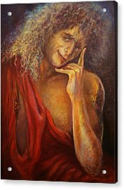 A Man In Toga Acrylic Print