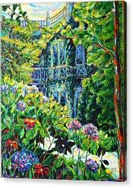 A Mansion In St. Kilda Acrylic Print by Zofia  Kijak