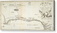 A Map Of The Slave Coast Acrylic Print by British Library