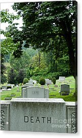 A Matter Of Life And Death Acrylic Print by Amy Cicconi