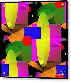 A Matter Of Perspective - Series Acrylic Print by Glenn McCarthy Art and Photography