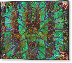 A-maze-ing Acrylic Print by Kathie Chicoine