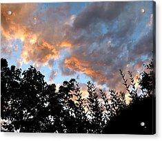 A Memorable Sky Acrylic Print by Will Borden