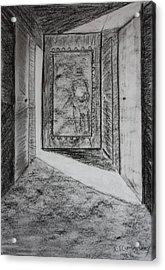A Memory 3 Acrylic Print by Roger Cummiskey