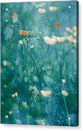 A Memory Of June Acrylic Print by Delphine Devos