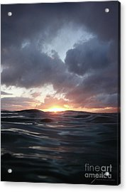 Acrylic Print featuring the photograph A Mermaid's Point Of View by Suzette Kallen